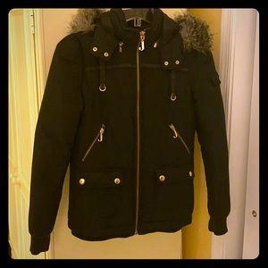 Black Juicy Winter Coat
